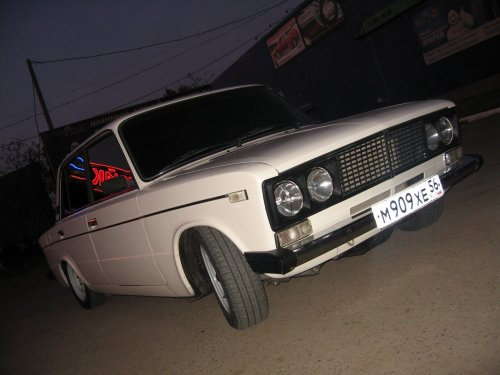 ВАЗ 2106 Dag style, очень низкая )