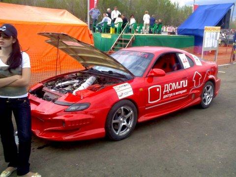 1-й этап чемпионата Урала и Поволжья по дрег рейсингу 2008 г.Оренбург.
