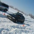 Предварительный этап  синхронных ледовых гонок «Ледовое кусалово».Карьер