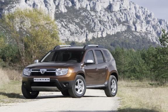 кроссовер Renault/Dacia Duster 4x4, созданный на платформе Logan
