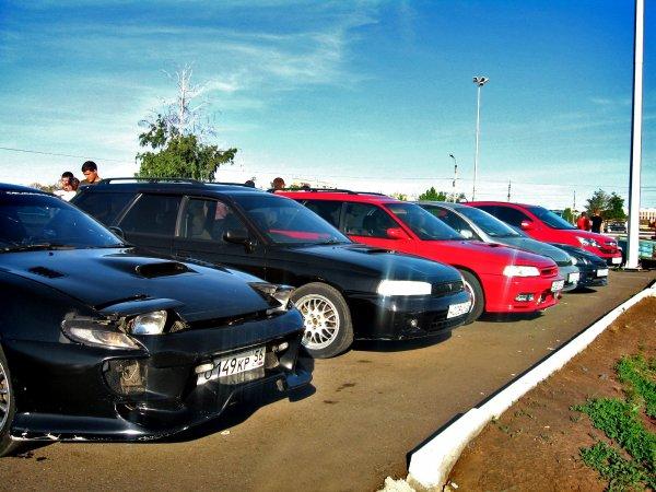Сбор владельцев и любителей японских GT авто. Армада. Оренбург
